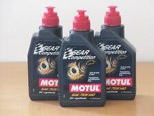15,80€/l Motul Gear Competition 75W-140 GL-5   3 x 1 L Renngetriebeöl