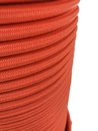Orange Élastique Corde Corde Arrimage 4mm 6mm 8mm 10mm 12mm