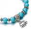 7-Chakra-Bracelet-Lava-Healing-Stones-Beaded-Gemstones-Beads-Elastic-Yoga thumbnail 28