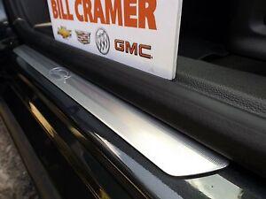 Image is loading 22954819-2014-2018-Chevrolet-Impala-OEM-Front-Door- & 22954819 2014-2018 Chevrolet Impala OEM Front Door Sill Plates NEW ...