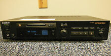 VINTAGE Sony MDS-302 MiniDisc Optical Digital Recorder Cleaned & Serviced