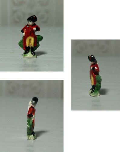 1:12TH échelle Staffordshire Flatback soldat décoration pour la maison de poupées