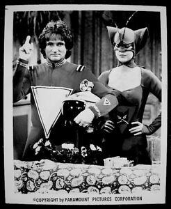 Robin-Williams-Pam-Dawber-Mork-amp-Mindy-Press-Photo-1979-Date-Stamp-Original-VTG