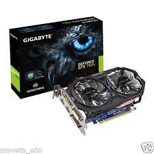 Gigabyte NVIDIA GeForce GTX750 Ti 2GB DDR5 OC GV-N75TOC-2GI PCI-E Video Card DVI