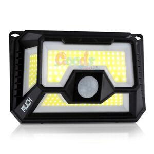 154-COB-LED-Solar-Power-PIR-Motion-Sensor-Wall-Light-Outdoor-Garden-Lamp-7000K