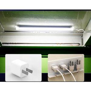 New-USB-LED-Hard-Strip-Light-Tube-Cool-White-Lamp-Bulb-W-On-Off-Switch