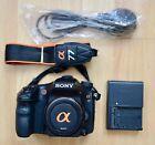 Sony a77 Alpha SLT-A77 24.3MP Digital SLR Camera - Black (Body only)
