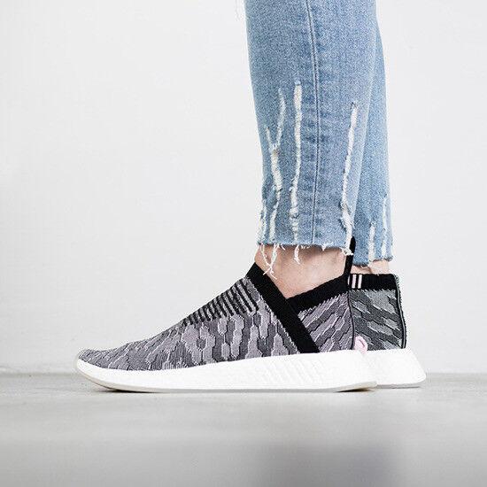 Adidas nmd 7,5.rosa w cs2 pk misura 7,5.rosa nmd nero, grigio e bianco by9312 ultra impulso primeknit ba35e5