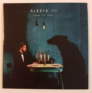 ALEXIS-HK-NEW-CD-ALBUM-PROMO-COMME-UN-OURS-DERNIER-ALBUM-ENGAGE