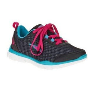 cab5e873d478 New Avia Girl s Diversion Athletic Shoes Light Weight Sizes 1 2 3 4 ...