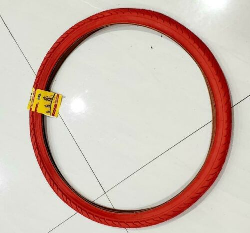 ONE HIGH QUALITY BICYCLE  RED STREET TIRE 47-559 26 X1.75 TIRE BICYCLE