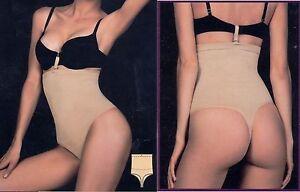 90b50fd99446 Cincher NIB Seamless Hi Waist Thong Body Tummy Control Shaper Girdle ...