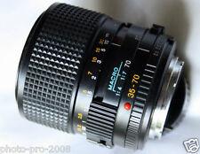 Legendary Minolta MD 35-70 mm  f/3.5 constant aperture Macro Zoom lens