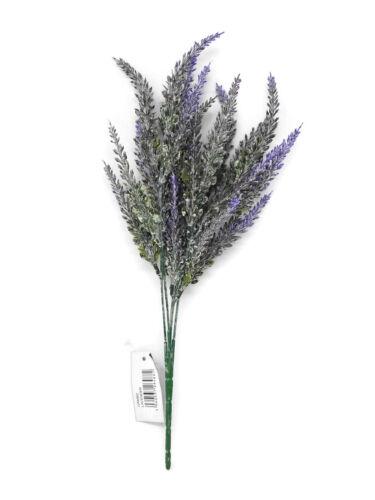 Artificielle Heather Branch x 36 cm-wild feuillage Verdure-violet ou blanc