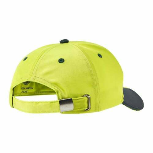 2019 Aston Martin Racing Team Mens Baseball Cap Adults Hat One Size Lime Green