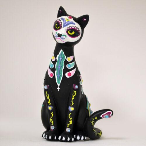 Fur-Ever Serenity Sugar Skull Cat Figurine by Blake Jensen NEW