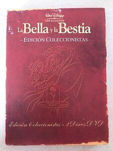 LA-BELLA-Y-LA-BESTIA-EDICIoN-COLECCIONISTA-2-x-DVD-INGLES-ESPANOL-WALT-DISNEY-AM
