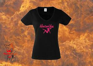 Hotwife-Lady-Fit-T-Shirt-Hot-Wife-Cuckold-Tart-BBC-Queen-Of-Spades-FREE-UK-P-amp-P