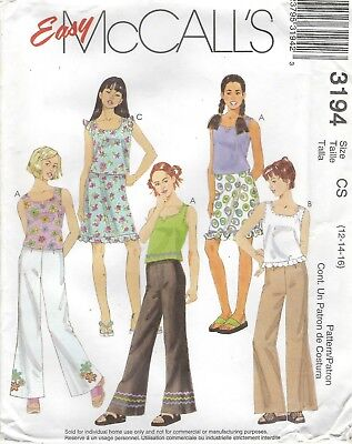 McCall/'s 4579 Girls/' and Girls/' Plus Jumpers *Extremely Rare*   Sewing Pattern