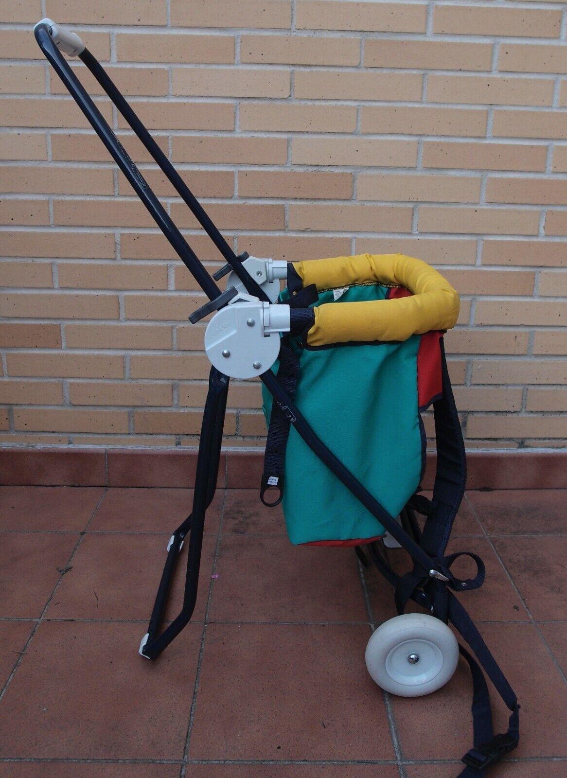 Mochila portabebé con ruedas Chicco. COMBINO ENVÍOS