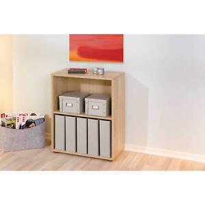 Petite-etagere-bibliotheque-rayonnage-meuble-de-salle-de-bain-ou-de-bureau-CHENE