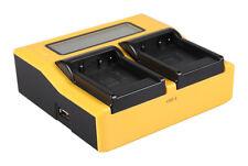 BATTERIA di ricambio rapido-Caricabatteria per Panasonic vdr-d220//vdr-d250//vdr-d300
