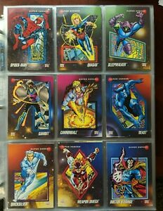 1992-IMPEL-MARVEL-UNIVERSE-SERIES-3-Complete-Base-Set-of-200-Cards