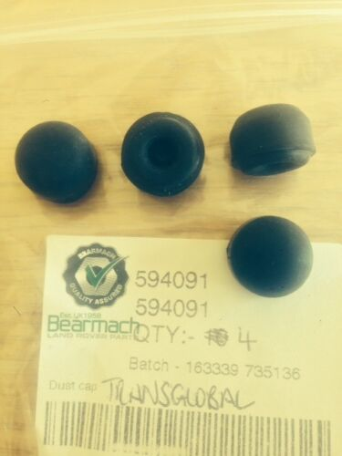 Land Rover Defender V8 Brake Caliper Bleed Nipple Dust Caps x4 Bearmach