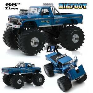 GREENLIGHT-13541-1974-FORD-F250-BIGFOOT-1-DIECAST-MONSTER-TRUCK-1-18-66-034-TIRES