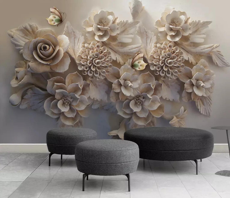 3D Wohlstand Blaume 5 Mauer Papier Exklusiv MXY Fototapete Abziehbild Innen Mauer