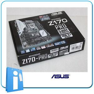 Plaque-base-ATX-Z170-ASUS-Z170-PRO-Douille-1151-avec-Accessoires