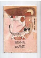 W Borudzka Basia i kotek il J Włodarska 1960 Polish book for children