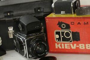 Kiev-88-della-macchina-fotografica-TTL-6x6-LENTE-Volna-3-2-8-80-LENTE-URSS-SOVIETICO-VINTAGE