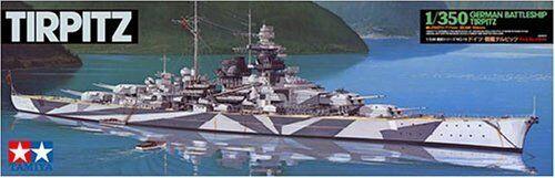 TAMIYA 1 350 German Battleship Tirpitz Model Kit NEW from Japan