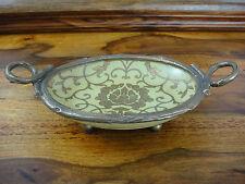 Porzellan Seifenschale Bronze Schlüsselablage Schale Ablage Antik Barock Edel