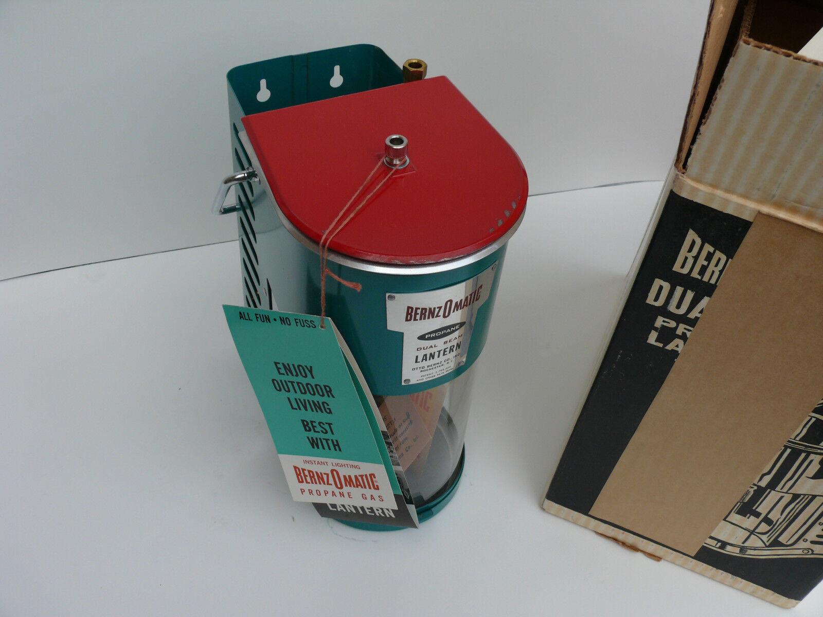 1960s NOS Bernz-O-Matic DualBeam TX-750 Propane Lantern NO PROPANE Made in USA