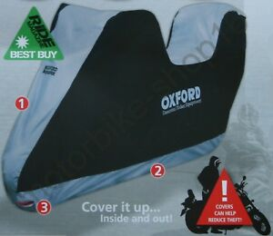 Oxford Umbratex Cover Waterproof Outdoor Motorcycle Cover size XL XLarge CV108