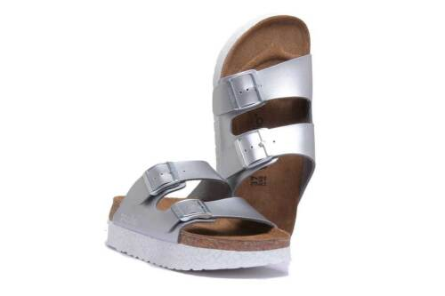 Donna Monochrome Silver Papillio 8 Size Uk Arizona Sandals Marble 3 Rv6xn5qw