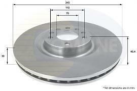 FRONT Brake Discs and Pads SAAB 93 OPEL VAUXHALL VXR SIGNUM VECTRA C 345MM DISCS