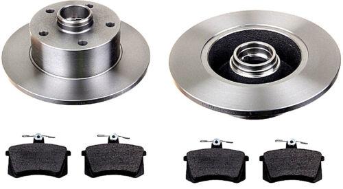4 Beläge Bremsen HINTEN für Audi A4 2 Bremsscheiben B5