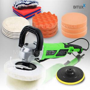 BITUXX-Auto-Poliermaschine-Lack-Autopolierer-Poliergeraet-Autopflege-Polierset-9