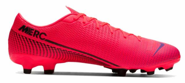 Nike Uomo Scarpe con Tacchetti da Calcio Mercurial Vapor 13 Accademia MG Rosso