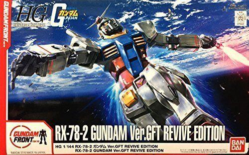 Bandai HG 1 1 1 144 RX-78-2 Gundam Ver.GFT REVIVE EDITION GFT Limited Model  Kit 3d758a