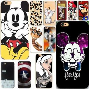 Mouse-girl-new-Silicone-Rubber-Soft-TPU-Case-Cover-For-iPhone-6S-7-8-plus-5s