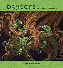 Dragons by Katie Hofgard 2017 Wall Calendar 9780764973765 (Calendar, 2016)