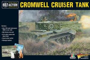 1-56-Echelle-28MM-Cromwell-Cruiser-Tank-Boulons-Action-Warlord-Games