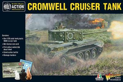 1/56 Scala 28mm - Cromwell Cruiser Tank - Bolt Action - Warlord Games Sentirsi A Proprio Agio