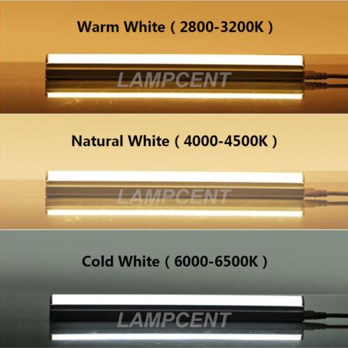 T8 Integrated LED Tube Bulb Light 2FT 3FT 4FT 5FT 6FT 8FT Lamp Fixture 2-8//Pack