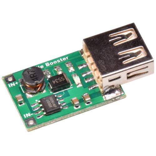 2-5V auf 5V 1200mA 1.2A DC-DC Konverter Step-Up Boost USB Modul für iPhone