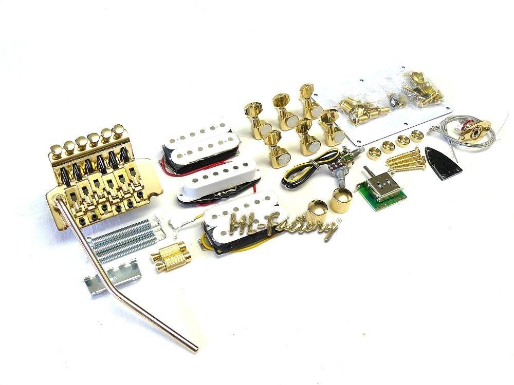 E-Gitarren Bausatz / Guitar DIY Kit ML-Factory® ML-Factory® ML-Factory®